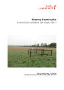 Image de couverture Jahresbericht 2015, Bodenmessnetz Kanton Basel-Landschaft