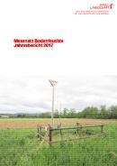 Image de couverture Jahresbericht 2017, Bodenmessnetz Kanton Basel-Landschaft
